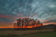 Sundown over Lower Saxony (neya25) Tags: benthe bentherberg deister niedersachsen lower saxony olympusomdem10 panaleica15mm availablelight sundown sonnenuntergang abendsonne