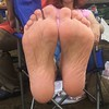 IMG_3150 (Liz Townsend NY) Tags: female feet foot fetish barefeet barefoot barefootin hippy toes painted