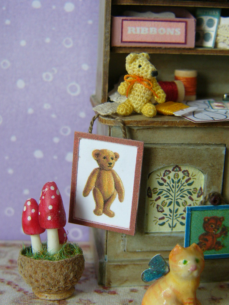 Amigurumi Doll House : The Worlds Best Photos of amigurumi and dollhouse ...
