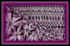 purple Z (Poppie_60) Tags: zia zentangle zentangles zendoodles zendoodle ziazentangleinspiredart