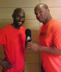 Doing an interview for NBC with Bernard Legat!!!! This dude is the truth!!!! A legend in the making already!