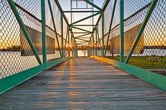 Casino Island Sunset Bridge - HDR