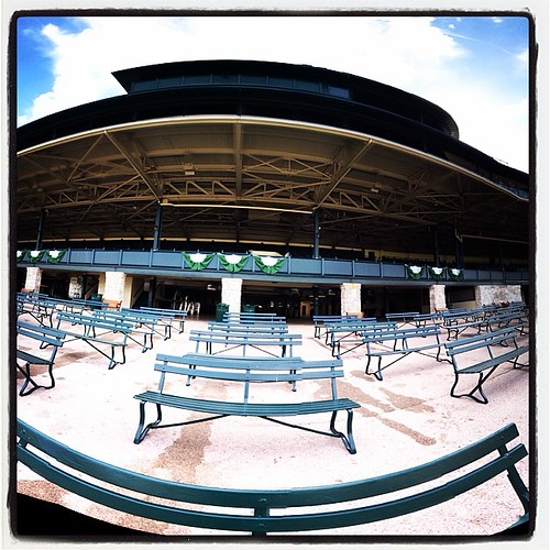 Keeneland With Nobody. #pano