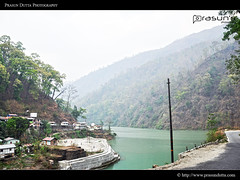 Nice Roads of Sikkim (PrasunDutta) Tags: road blue sky cloud india snow tree ice forest nikon hill north colorphotography cloudscape sikkim gangtok d90 prasun lachung nikond90 yungtham prasundutta prasunsphotography