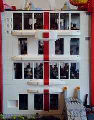 Kristiansen Station Detail 08 (LegoSpaceGuy) Tags: brick lego space bricks scifi brickscascade