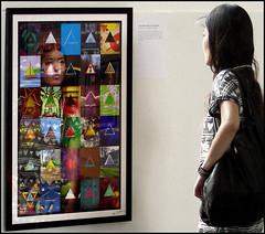 Dark Side (reprise) (emilype) Tags: milan reflection art arte feminine milano pinkfloyd donne riflessi attimi hipgnosis stormthorgerson