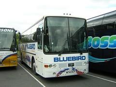 M741 RCP (quicksilver coaches) Tags: oxford bluebird weymouth sb vanhool daf alizee sb3000 m741rcp