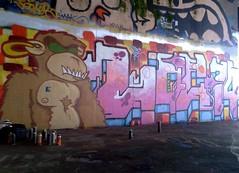 loc74 (loc 74) Tags: ikea netherlands graffiti monkey utrecht loc 74 legal 2012 loc74