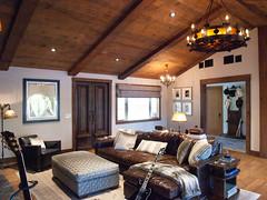 (deanmackayphoto) Tags: door wood light lamp vintage chair guitar antique ceiling livingroom pillow couch sofa ottoman renovation decor fixture cowboyhat interiordesign endtable