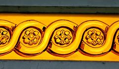 Victorian Glass (Mamluke) Tags: ireland dublin window glass yellow gardens jaune garden botanical painted victorian stainedglass irland amarillo gelb giallo botanic colored coloured cristal geel glas irlanda irlande verre vetro ierland glasnevin stained glass ire nationalbotanicgardens mamluke