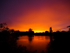 Ghetto Sunset (keylargo_diver) Tags: sunset florida fl southflorida browardcounty keylargodiverflickrcom olympusomdem5