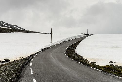 Route de la neige