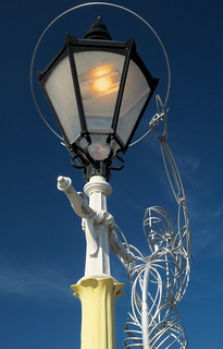 Lady with the Lamp Post, Belfast