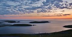 House with a view IMG_1337 (Ronnierob) Tags: sunsets foula scousburgh shetlandisles spiggie colsa