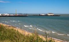 The Pier at Clacton on Sea in Essex (Olympus OMD EM5 & 12-32mm Zoom)_ (markdbaynham) Tags: camera uk sea beach four pier seaside view zoom evil olympus system scenary micro essex clacton compact omd csc thirds on m43 mft em5 u43 micro43 m43rd omdem5 u43rd 1232mm