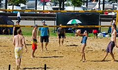 2014-07-04 BBV Hat Draw Tournament (63) (cmfgu) Tags: holiday net beach sports ball court md sand outdoor 4th july maryland baltimore tournament bikini volleyball coed athlete fourth independenceday league 4s innerharbor fours bbv rashfield hatdraw