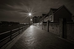 Penarth, South Wales (technodean2000) Tags: uk wales night marina pier nikon shot south cardiff 64 penarth lightroom d5200