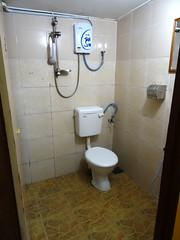 Salle de bain commune d'Happy  Hut