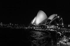 Opera House - Circular Quay (Kheiry D) Tags: bw blackwhite sydney australia circularquay operahouse