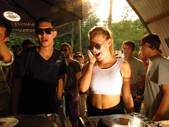 party music house girl sunglasses amsterdam fun bass dom nederland muziek techno bimbo calling djs dubstep amsterdamsebos cultuur jeugd 2014 djb djculture djbroadcast dekmantel dekmantelfestival lastfm:event=3828107