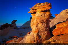 Studhorse point (Giovanni Allievi Photography) Tags: red wild arizona sky usa moon southwest west monument nature hat stone america relax landscape countryside sandstone rocks solitude peace desert vibrant south grand scene canyon national journey serenity western land balance suspended wilderness desolate viewpoint uninhabited tranquil paria staircaseescalante hoodo wahweep