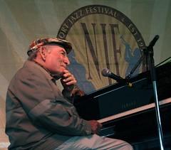 George Wein at the Newport Jazz Festival 2014, August 1-3, Newport, Rhode Island
