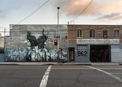 DTLA Arts District (Suzanne - neusuz5) Tags: urban streetart photoshop graffiti losangeles sony dtla a7r topazadjust artsditrict zeissfe35mmf28