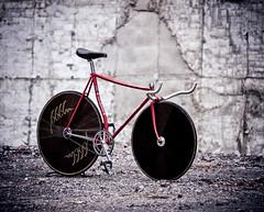 COLNAGO 650 / Ruins Taipei (father TU) Tags: bike track steel 650 fixie fixedgear colnago pista aero trackbike campagnolo fathertu