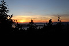 Sunset from Mount Eerie 8/8/14 (MacKenzie Richmond) Tags: sunset mountain whidbeyisland mounteerie