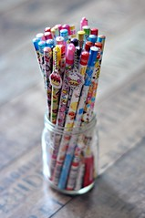 Kawaii Pencils - Kamio, Crux, Sanrio, Q-Lia, Mind Wave, Pool Cool, San-X etc (MoonBaby2202) Tags: cute japan toy pretty colours sweet hellokitty small mini sanrio collection kawaii colourful collectible gashapon stationery crux qlia rilakkuma sanx kamio mindwave poolcool