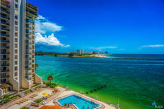 High Rise (dbubis) Tags: sky beach pool beautiful clouds gulf florida sony fl clearwater bubis dbphoto nex6