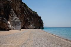 beach full of space (filipe mota rebelo | 400.000 views! thank you) Tags: blue summer vacation beach water canon europe peaceful pebbles balkans transparent albania 2014 balcans fmr 5dmarkii filipemotarebelo