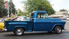 1955 GMC Pickup (Custom) 2 (Jack Snell - USA) Tags: ca old cruise wallpaper classic 1955 wall vintage paper antique vacaville pickup historic fosters freeze nights oldtimer custom veteran gmc jacksnell707 jacksnell