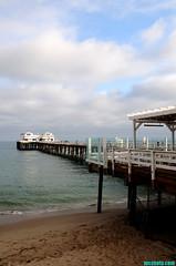 Malibu4263 (mcshots) Tags: ocean california travel sea summer sky usa beach water clouds coast pier sand rocks afternoon view stock malibu pch socal mcshots swells losangelescounty