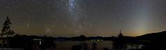 Moogerah panorama (Teale Britstra) Tags: panorama canon stars space tokina 600d moogerah 1116mm zodiacallightmilkywaygalaxymagellaniccloudlakemountainnightsky