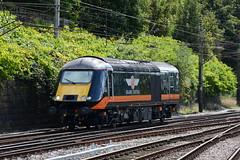 43423 0Z43 Preston (British Rail 1980s and 1990s) Tags: valenta19722010 valenta 43423 0z43 grandcentral class43 hst highspeedtrain preston train rail railway station livery wcml westcoastmainline lmr londonmidlandregion lancs lancashire mainline trains liveried railways