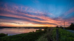 Sunday night Sunset.. (VNR Photography) Tags: sunset summer blackandwhite lake ontario canada water clouds canon outdoors evening flying geese afternoon exploring country flight canadian countryroad caledon andrevonnickisch 9058679106 vnrphotography avnrphotogmailcom