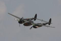 "P-38 ""LIGHTNING"" (car_plane_train_guy) Tags: michigan wwii airshow b17 ww2 lightning thunderbirds dc3 warbirds warbird c47 p51 f86 p51mustang p38 thunderovermichigan b25bomber p63 yankeelady b17flyingfortress wwiireenactment c54skymaster p63kingcobra wwiiww2warbirds sabref86sabre"