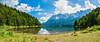 Eibsee panorama (mnielsen9000) Tags: panorama lake bayern bavaria garmischpartenkirchen eibsee zugspitze mountainrange grainau wetterstein nikond600 nikon2470