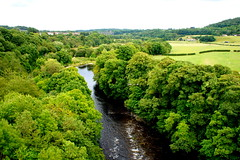 View of Wales from Pontcysyllte Aqueduct