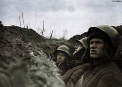 Soviet soldiers in the trenches - Leningrad Front (Za Rodinu) Tags: world 2 man men history vintage soldier war gun russia military rifle rifles front german weapon ww2 soldiers historical guns 1942 1945 rare troops 1944 1943