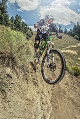 Big Bear Mountain Resorts Bike Park at Snow Summit in Big Bear Lake, California. Ian Odom Taking the High Road.
