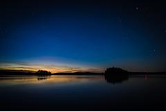 August Sunset (@Tuomo) Tags: sunset summer sky lake zeiss finland stars nikon df jyväskylä distagon päijänne korpilahti 28mm2