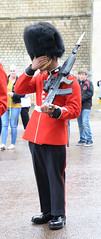 LEAVE BRITNEY ALONE! (Pat Charles) Tags: uk england london nikon unitedkingdom guard royal queen windsorcastle
