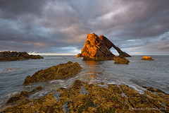 Bow Fiddle Rock (Maurizio Fontana) Tags: road street travel blue light sunset sea sky cloud lake color reflection green castle fall water colors clouds reflections river lago lights mirror scotland waterfall travels nikon europa europe strada tramonto nuvole mare colore nuvola blu united fiume scottish kingdom waterfalls cielo land luci terra acqua colori riflessi isle castello viaggi viaggio luce specchio isola d800 riflesso cascate cascata scozia vedre unito regno