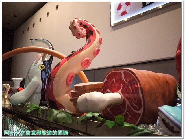 日本東京台場美食海賊王航海王baratie香吉士海上餐廳image013