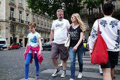 Parisian# 56 () Tags: street leica trip people paris france travelling candid voigtlander 28mm stranger parisian m9 wideopen f19 voigtlander28mmf19 leicam9