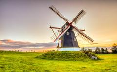Sunrise at Dorf Mill II (mnielsen9000) Tags: windmill sunrise hdr morningcolors nikond810 nikon2470 dorfmill