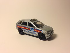 BMW X5 Police (king_joe007) Tags: car police bmw 164 suv matchbox x5 diecast