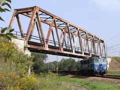 EU07-1525 (MarSt44) Tags: train poland polska cargo most pkp maopolska kolej budy eu07 pafawag brzeszcze eu071525